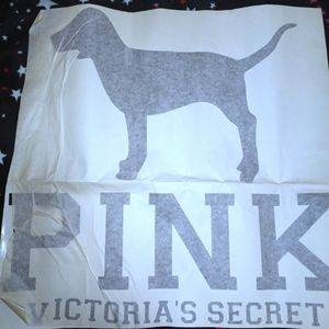Large vs pink vinyl decal